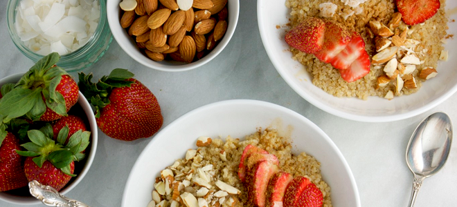 Recipe: Strawberry Breakfast Bowl