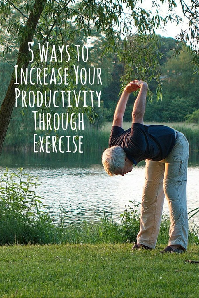 5 Ways to Increase Your Productivity Through Exercise