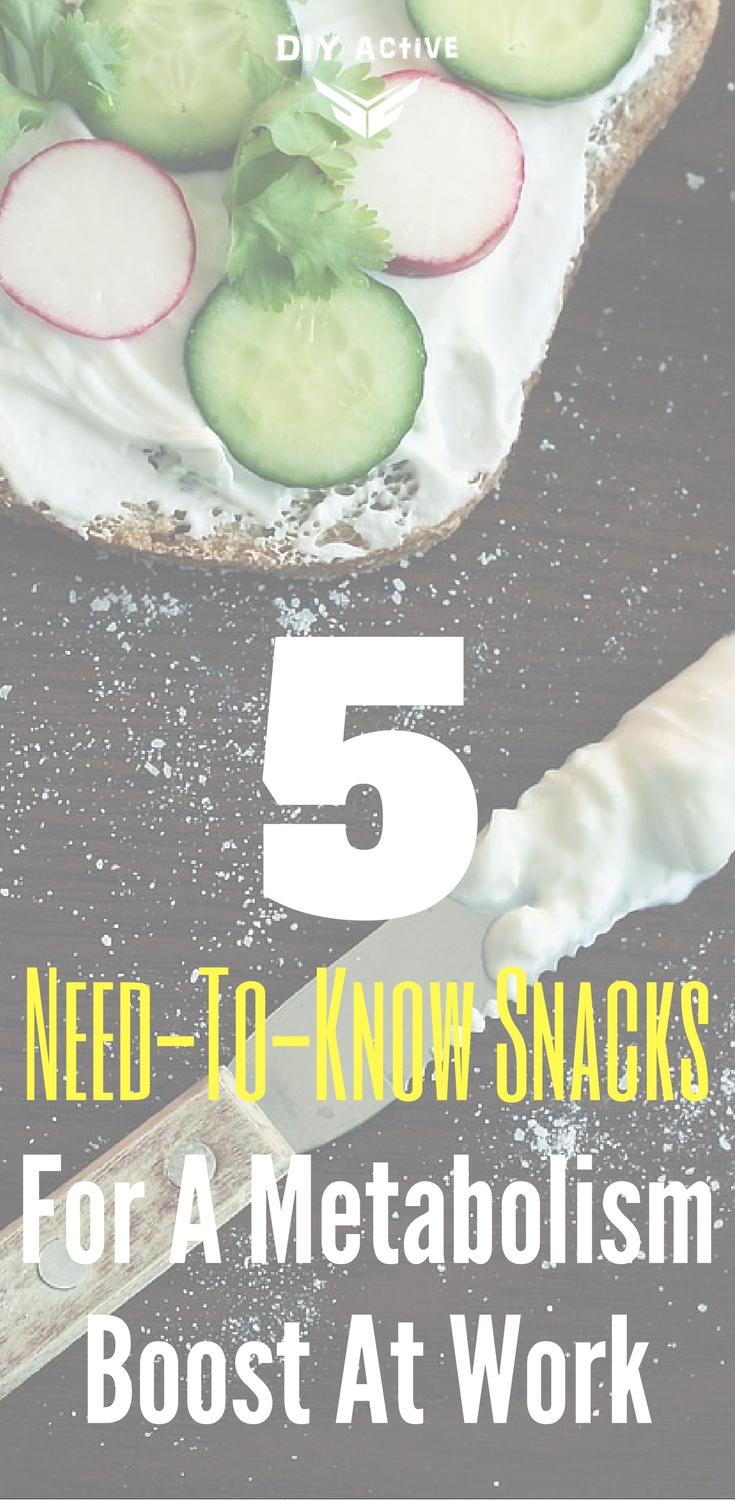 5 Need-To-Know Snacks For A Metabolism Boost At Work