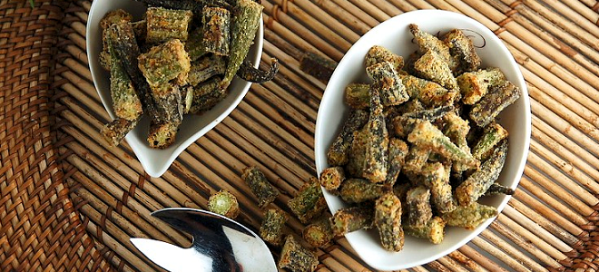 Recipe: Crispy Roasted Okra