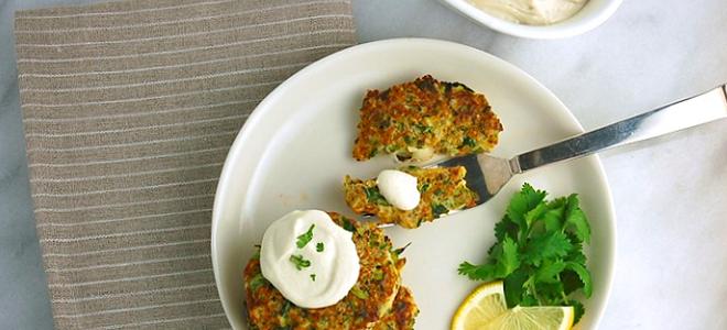 Recipe: Zucchini Quinoa Fritters