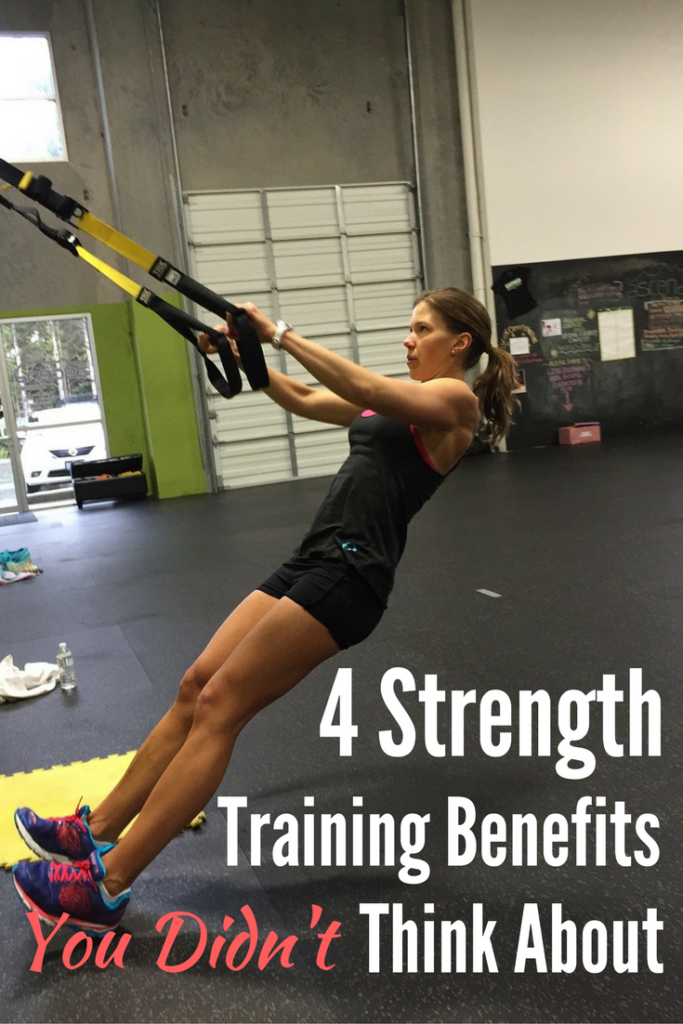 4 Strength Training Benefits You Didn't Think About