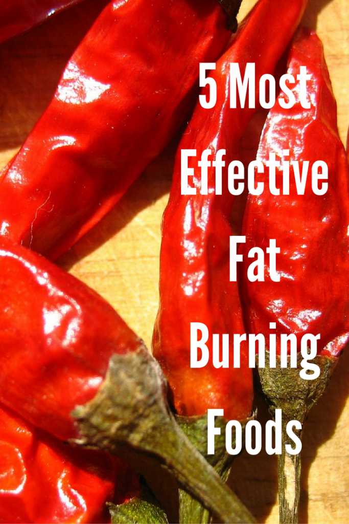 5 Most Effective Fat Burning Foods
