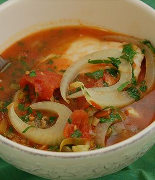 Halibut Soup