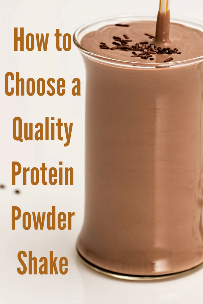 How to Choose a Quality Protein Powder Shake