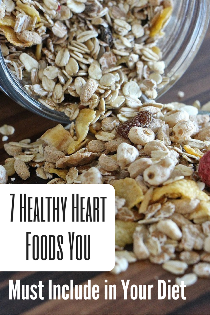 7 Healthy Heart Foods You Must Include in Your Diet