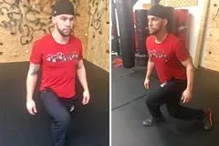 compass lunge