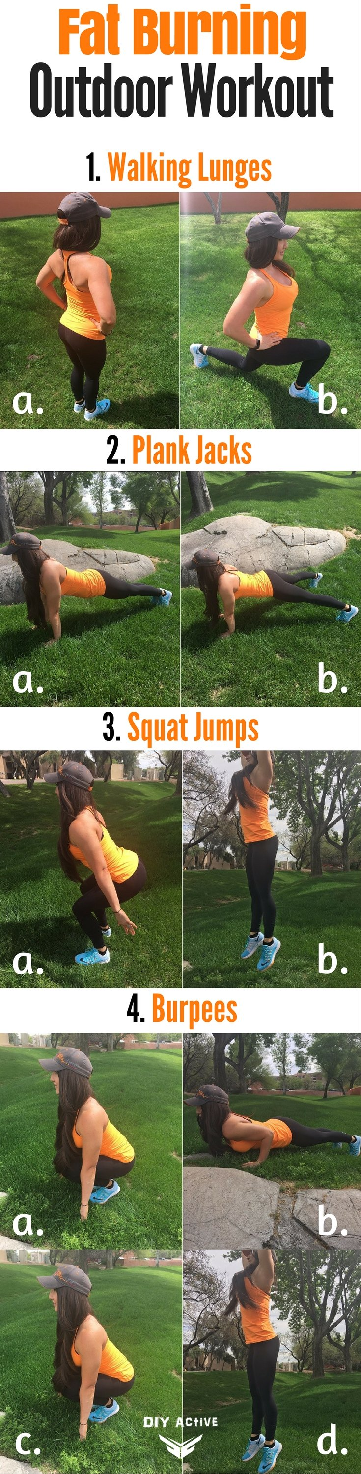 4 Outdoor Exercises for the Spring Season