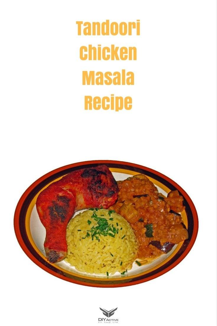 Delicious homemade tandoori chicken masala!