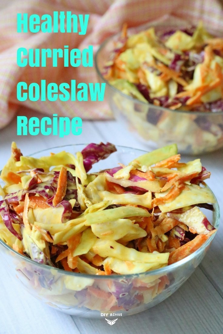 Recipe: Healthy Curried Coleslaw