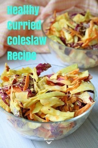 curried coleslaw, healthy, nutrition, food