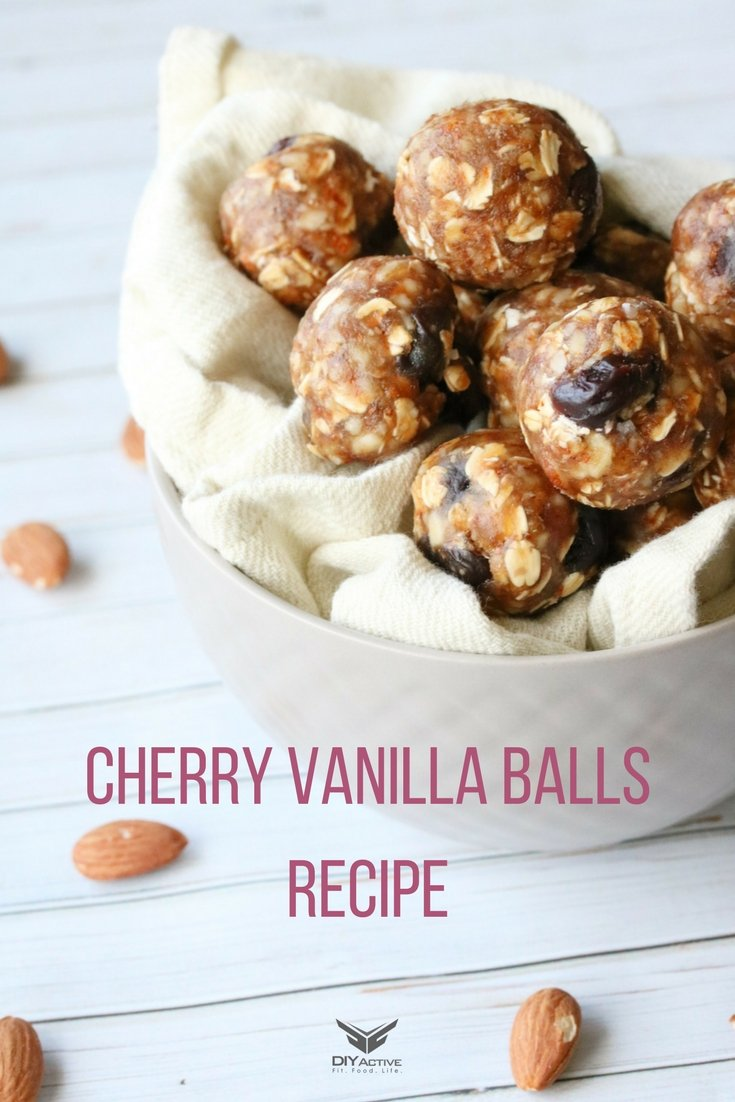 Recipe: Cherry Vanilla Energy Bites