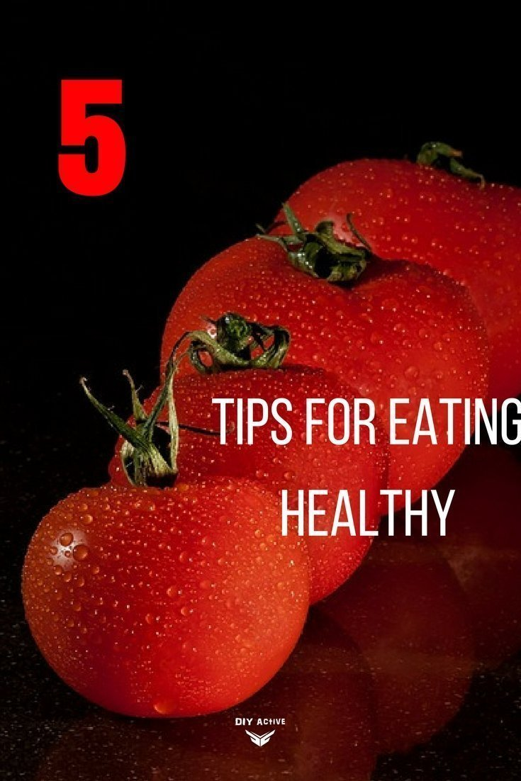 5 pro tips for eating healthy every day!