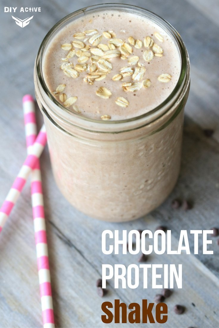 Recipe: Chunky Chocolate Protein Shake