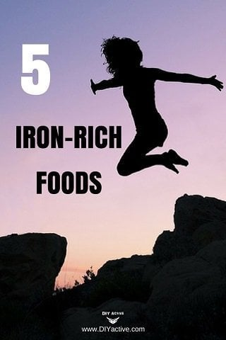 iron, iron-rich foods, nutrition, diet, minerals, healthy eating