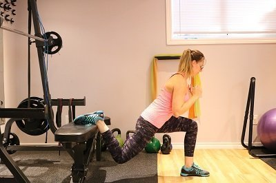 at-home exercise, at-home workout, glutes, bodyweight training, bodyweight exercise, bulgarian split squats