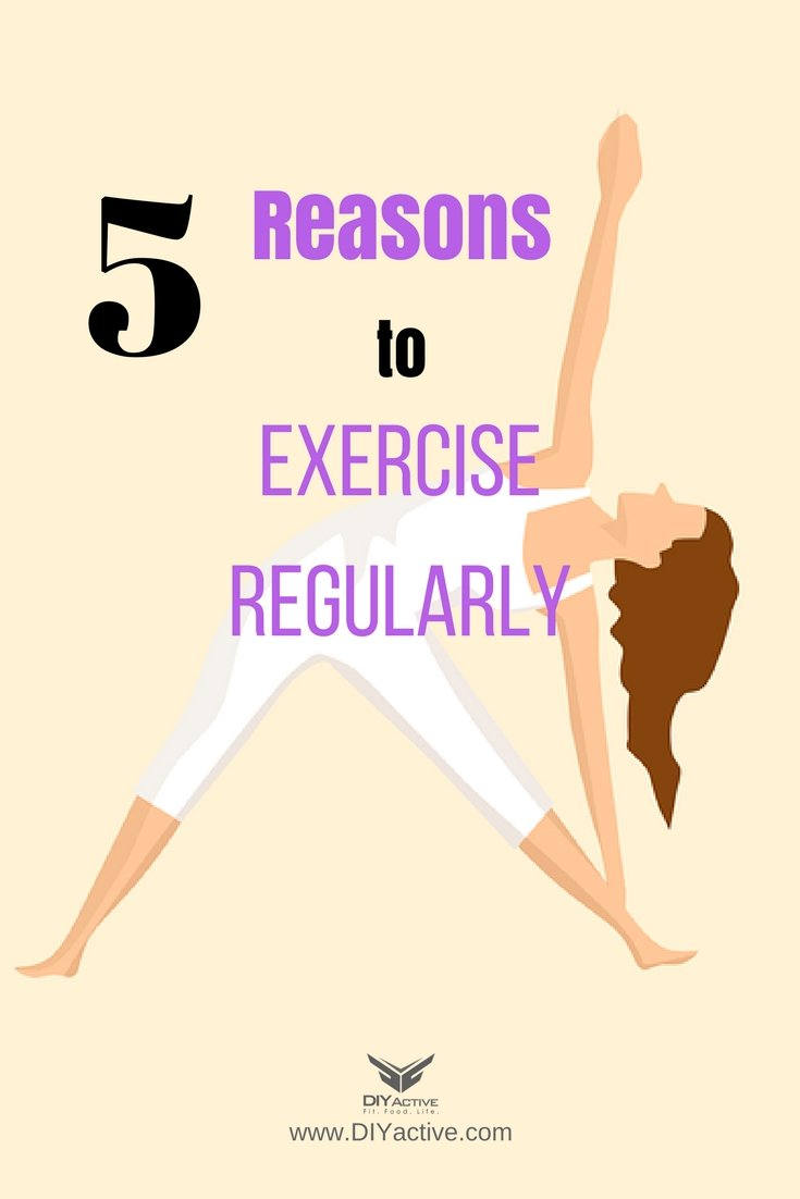 Regular exercise is good for your health!