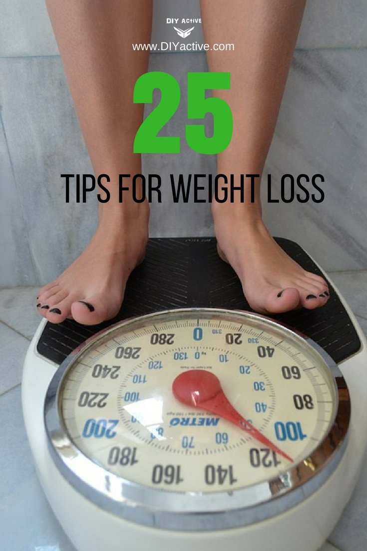 25 practical weight loss tips to help fuel the burn!