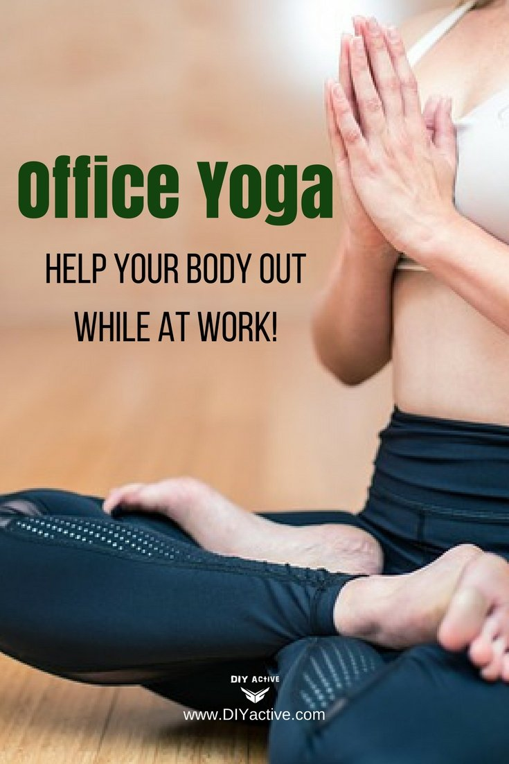 Office yoga is where it's at. Try these moves out at work!