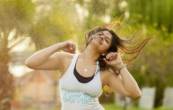 Zumba, workout, exercise