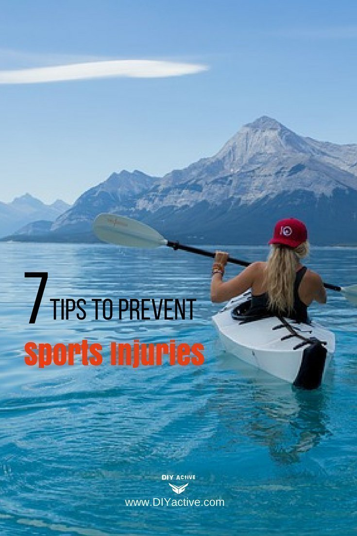 7 tips to prevent sports injuries!