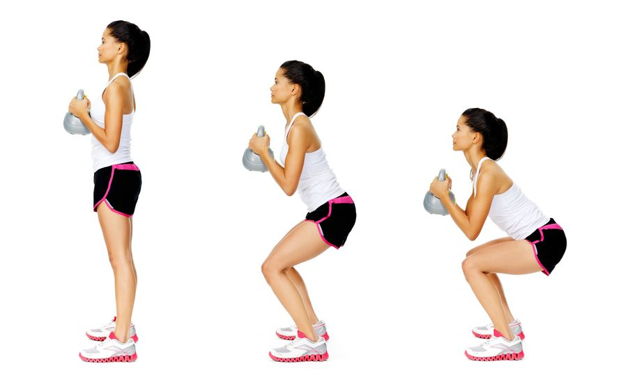 Kettlebell Workouts for Beginners Goblet Squat
