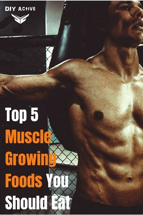 Top 5 Muscle Growing Foods You Should Eat Before a Workout