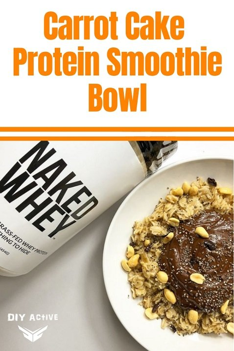 Carrot Cake Protein Smoothie Bowl Recipe