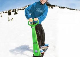 DIY Active Snowboard Kick Scooter 4 Must Have Outdoor Winter Gadgets