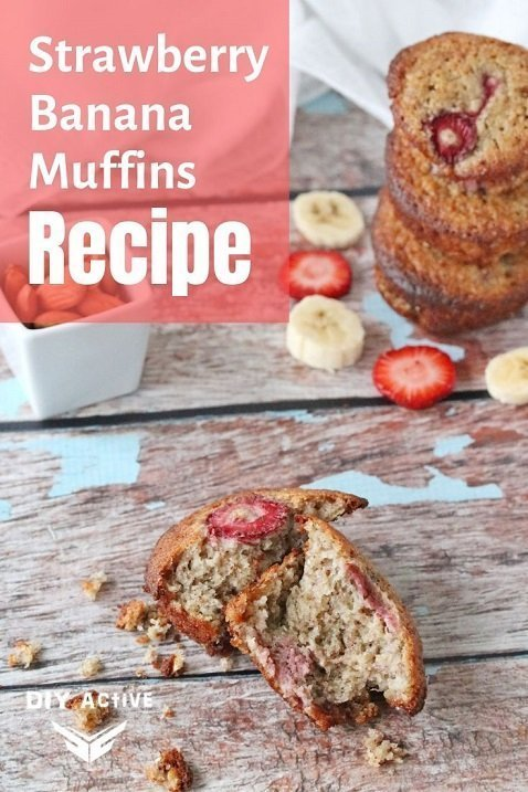 Gluten Free Strawberry Banana Muffins Recipe Yummy