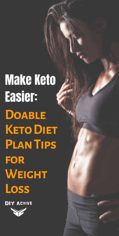 Make Keto Easier Doable Keto Diet Plan Tips for Weight Loss