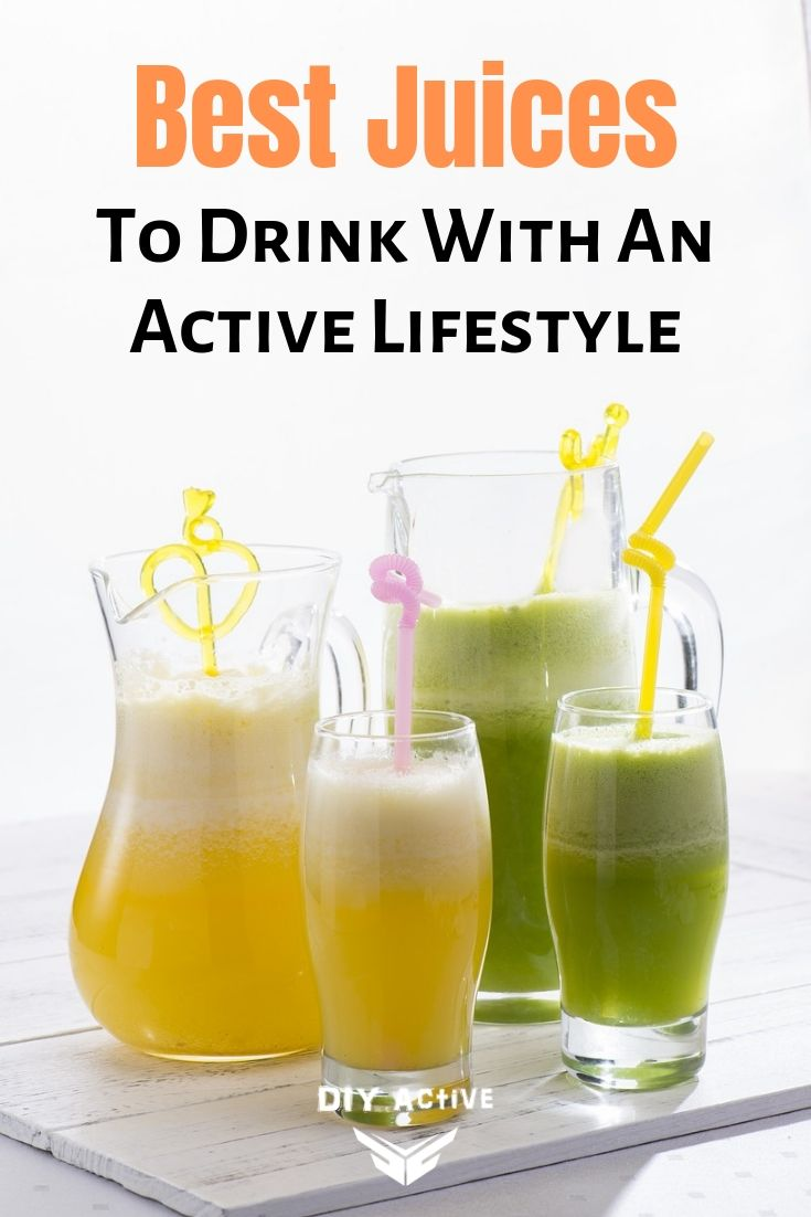 Best Juices To Drink With An Active Lifestyle Starting Today