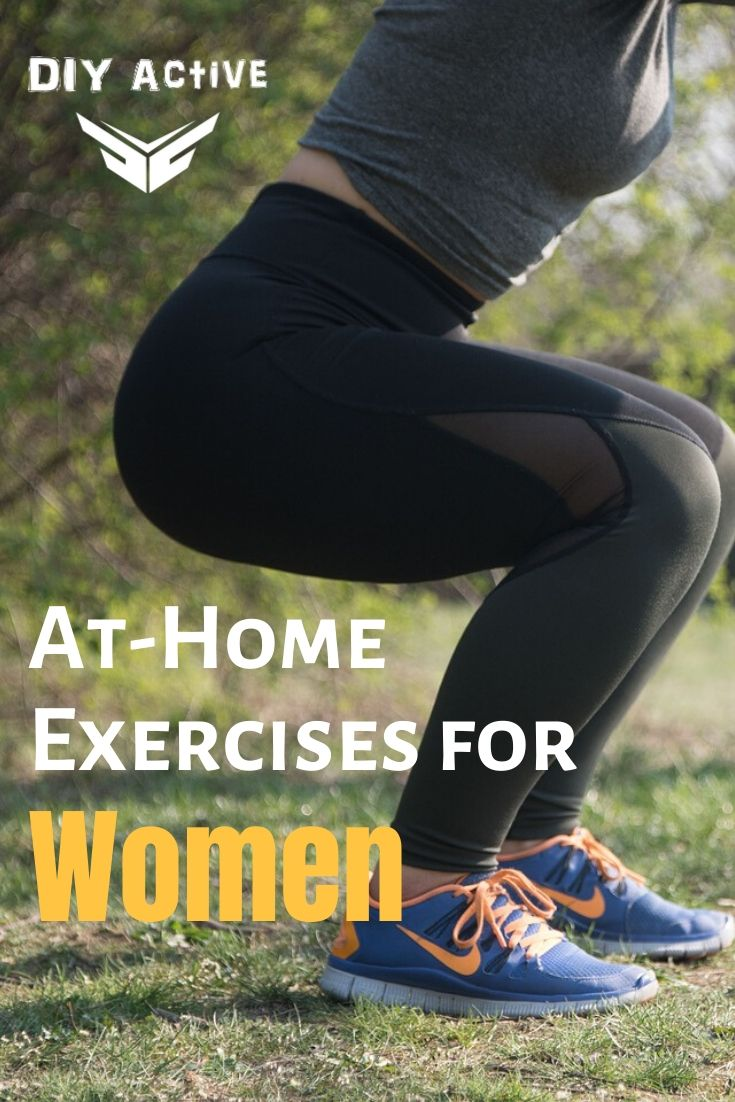 At-Home Exercises for Women