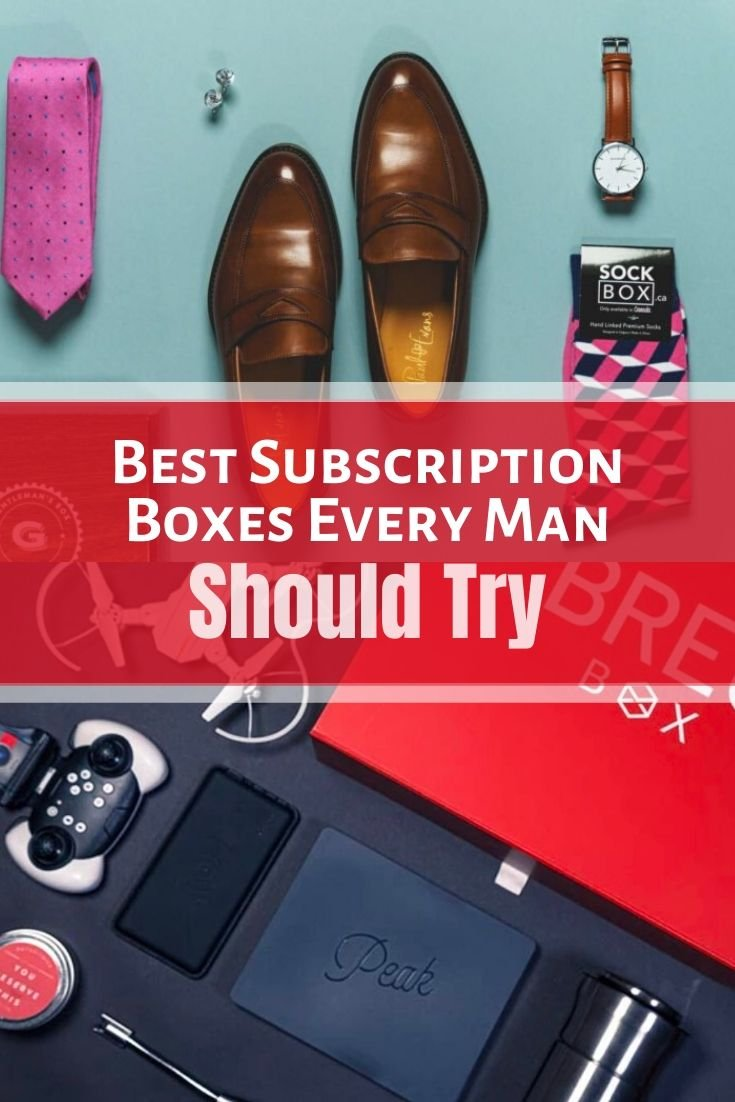 Best Subscription Boxes Every Man Should Try in 2020