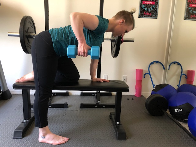 Critical Lifting Techniques When Exercising at Home Row