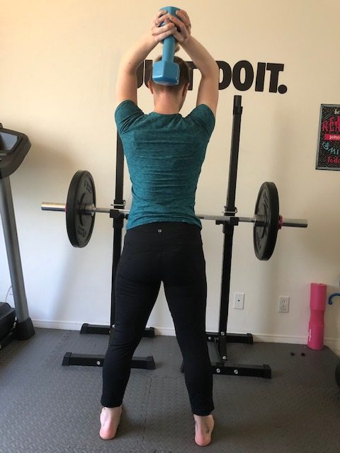 Critical Lifting Techniques When Exercising at Home Tricep Extension