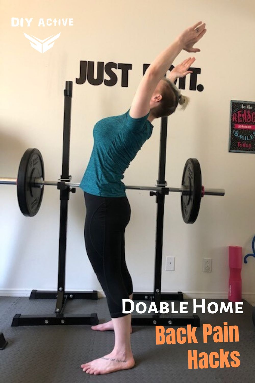 Simple, Doable At Home Back Pain Hacks