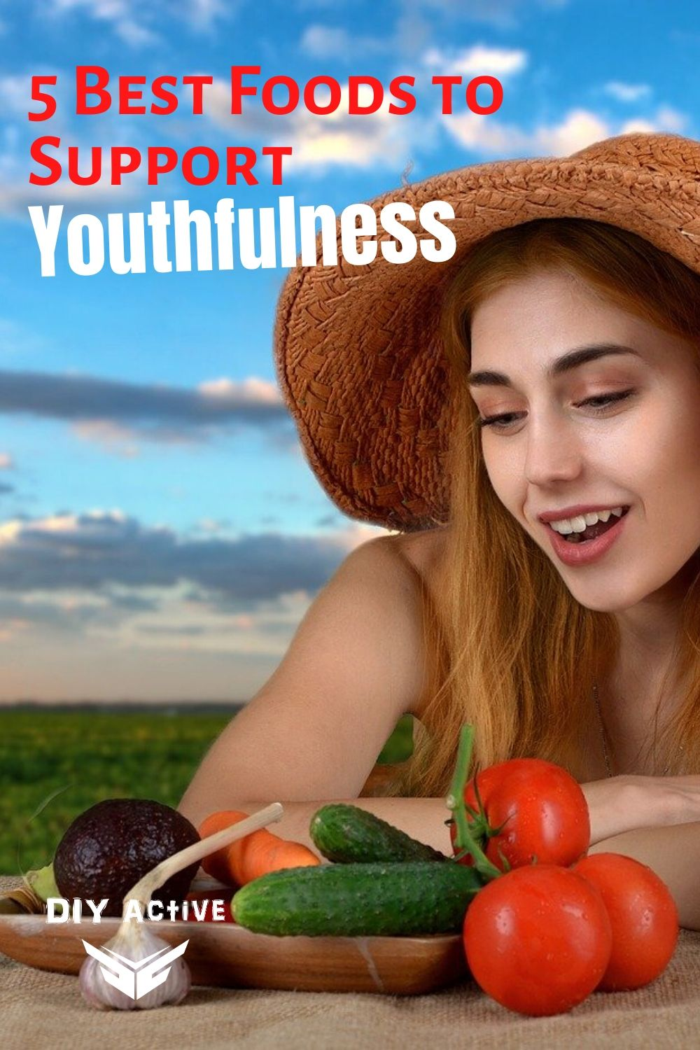 5 Best Foods to Support Youthfulness and Beauty