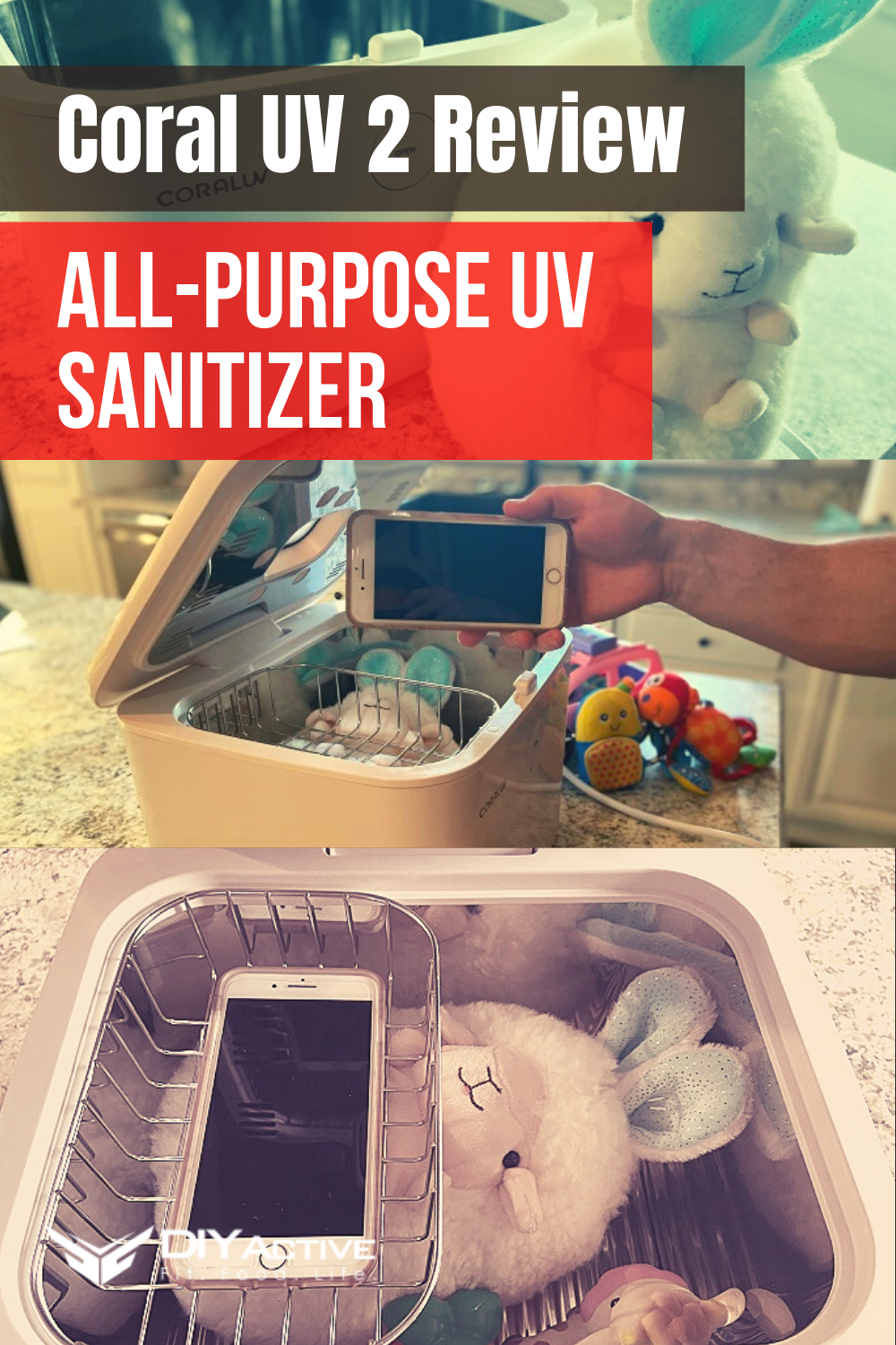 Coral UV 2 Review: All-Purpose UV Sanitizer