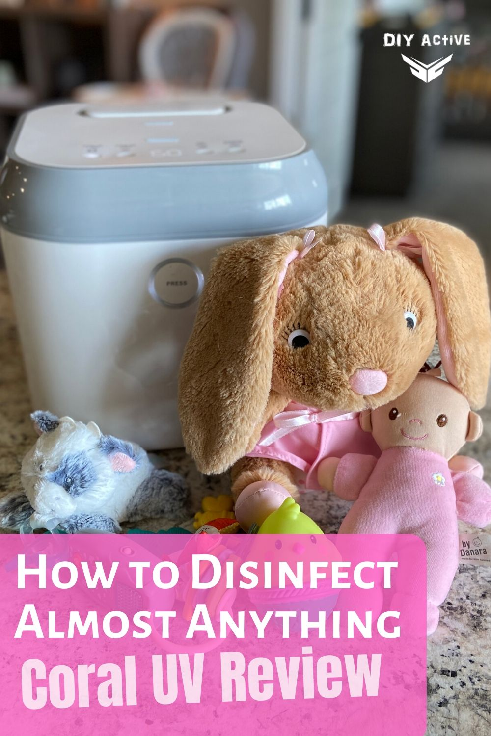 Coral UV Review Disinfect Almost Anything Easily
