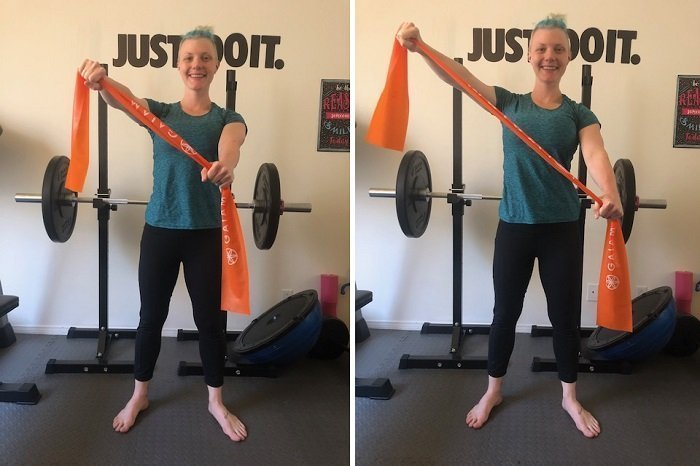 Best Resistance Band Exercises You Can Do At Home Diagonals