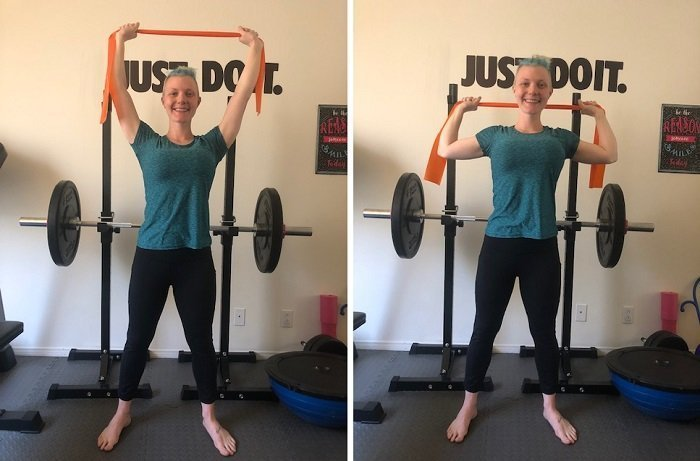 Best Resistance Band Exercises You Can Do At Home Lat Pulldowns