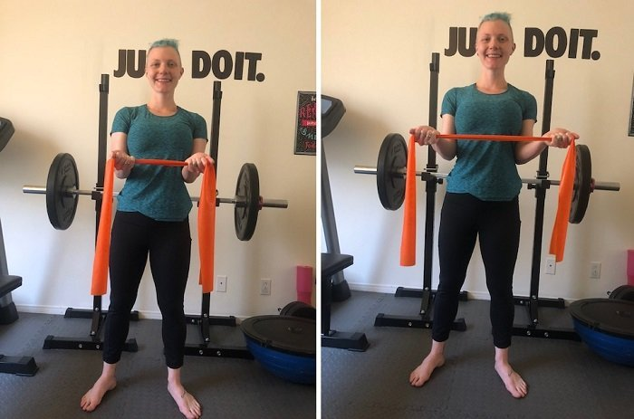 Best Resistance Band Exercises You Can Do At Home Trciep Openers