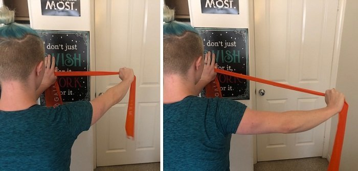 Best Resistance Band Exercises You Can Do At Home Wall Flys
