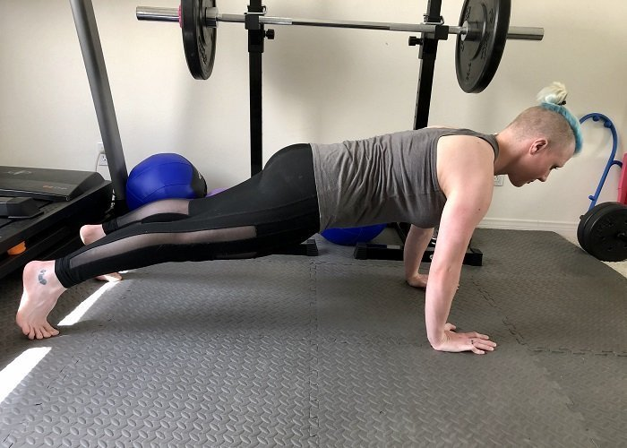 Great Bodyweight Exercises to Do During The Pandemic Chaturanga 1