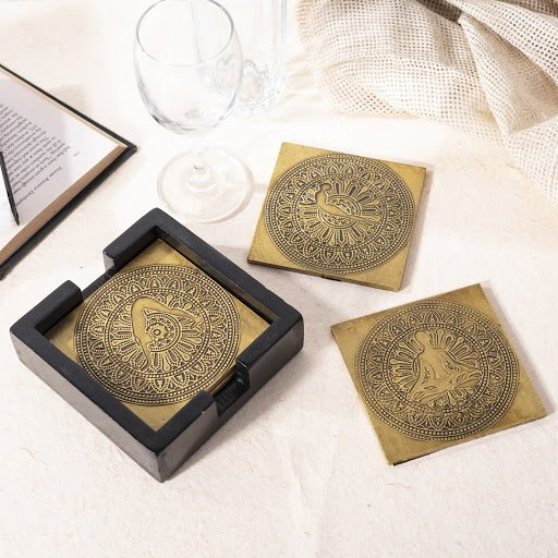 Top 10 Yoga Gift Ideas For Christmas Mandela Coasters