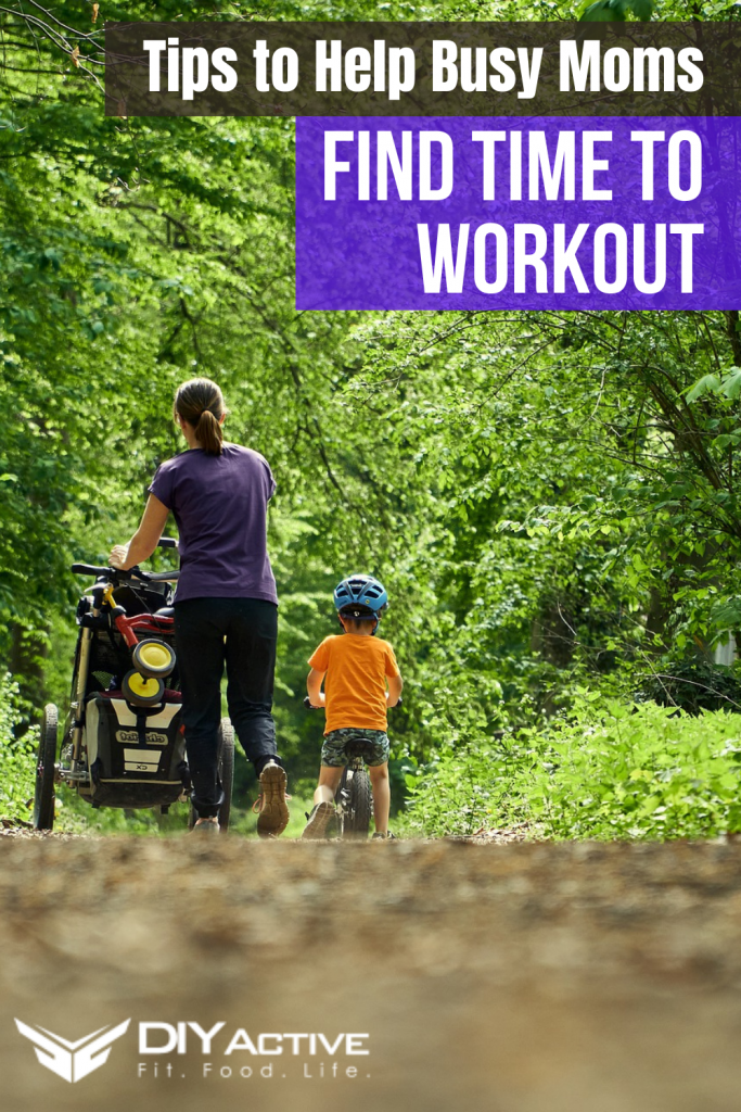 Tips to Help Busy Moms Find Time To Exercise