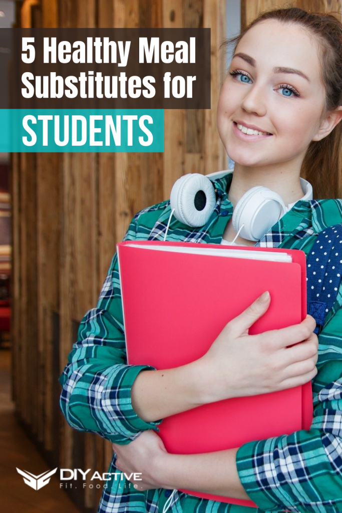 5 Healthy Meal Substitutes for students