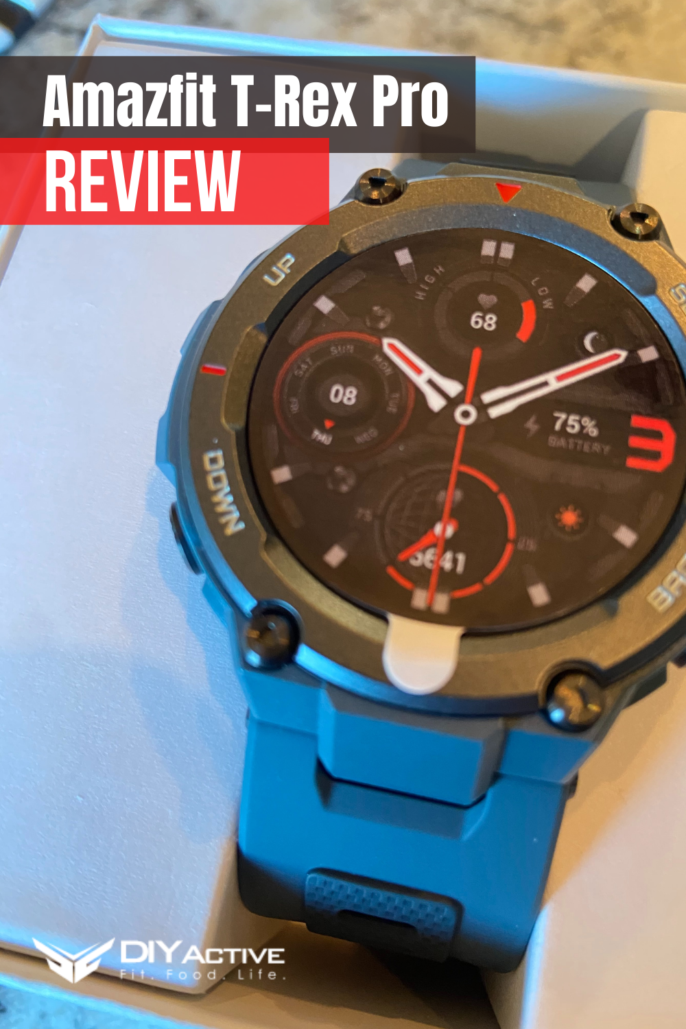 Amazfit T-Rex Pro Review: Your Exploration Partner