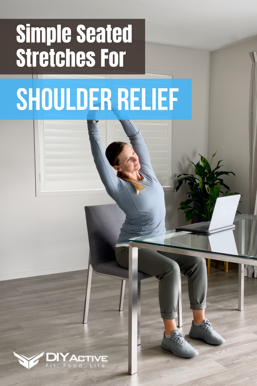 Simple Seated Stretches for Upper Back and Shoulder Relief